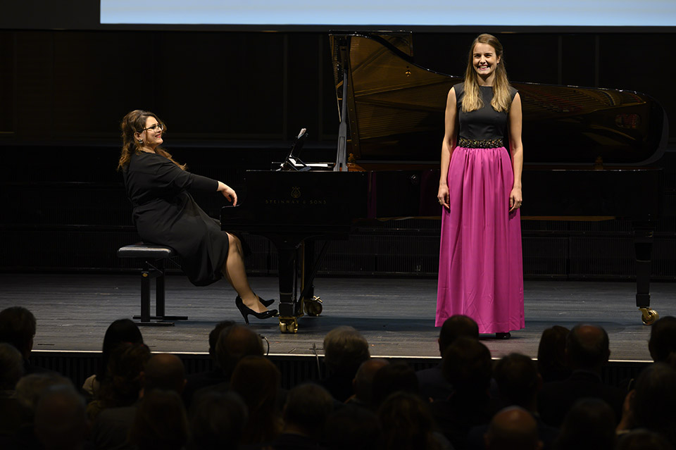 Rahn Continuo Konzert 2019, Zürich, Piano: Larisa Baghdasaryan, photo by Priska Ketterer